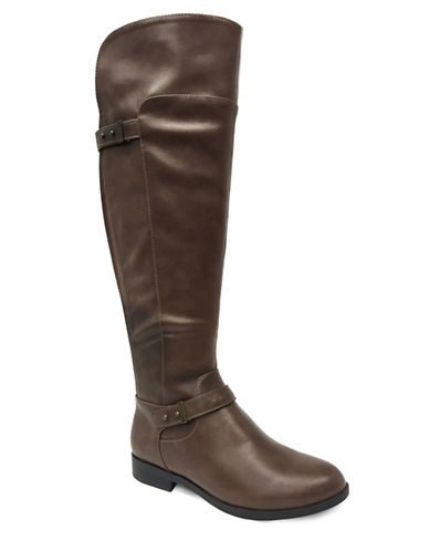Lexi And Abbie Emerson Over-the-Knee Boots-BROWN-9