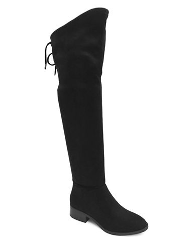 Lexi And Abbie Cherry Over-The-Knee Boots-BLACK-5.5