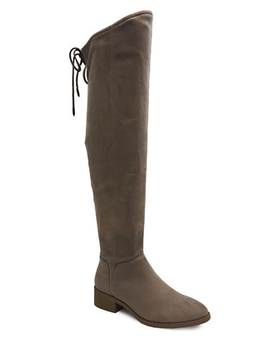 Lexi And Abbie Cherry Over-The-Knee Boots-GREY-11