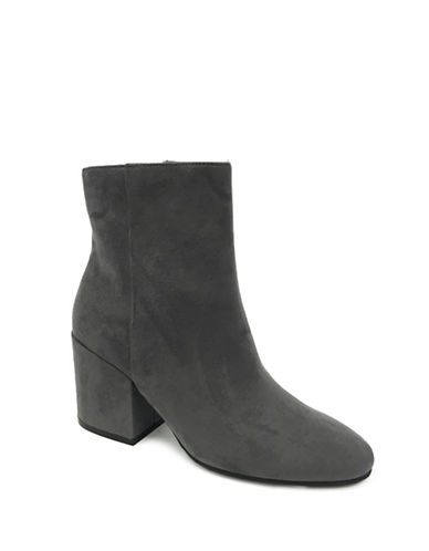 Lexi And Abbie Rylan Ankle Booties-GREY-9.5