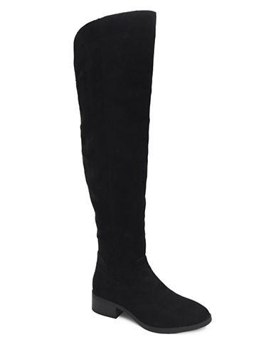 Lexi And Abbie Lessia Over-the-Knee Boots-BLACK-11