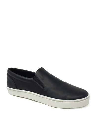 Lexi And Abbie Rielle Slip-On Sneakers-BLACK-7.5