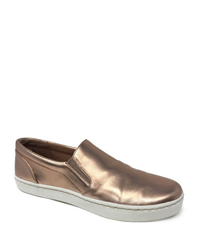 Lexi And Abbie Rielle Slip-On Sneakers-ROSE GOLD-6