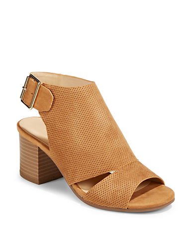 Expression Ophelia Block Heel Sandals-TAN-7