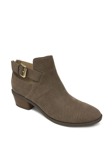 Expression Ziara Buckled Booties-TAUPE-9