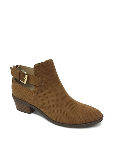 Expression Ziara Buckled Booties-TAN-6