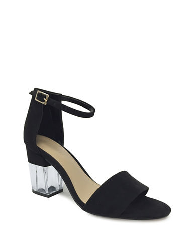 Expression Open-Toe Heel Sandals-BLACK-7
