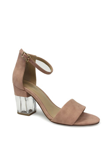 Expression Open-Toe Heel Sandals-ROSE PINK-8