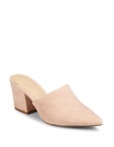 Expression Sefora Block Heel Mules-ROSE-6