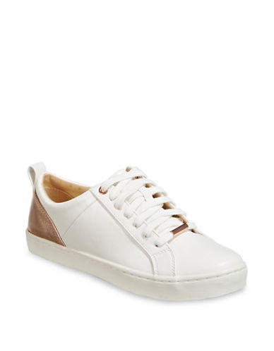 Expression Metallic-Paneled Sneakers-ROSEGOLD-6