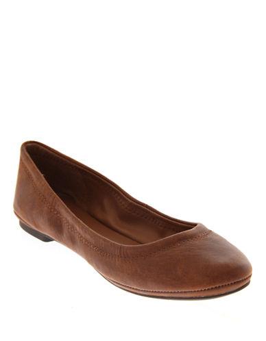 Lucky Brand Emmie Ballet Flats-BOURBON-5.5
