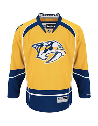 Reebok Nashville Predators NHL Premier Home Jersey-BLUE-X-Large