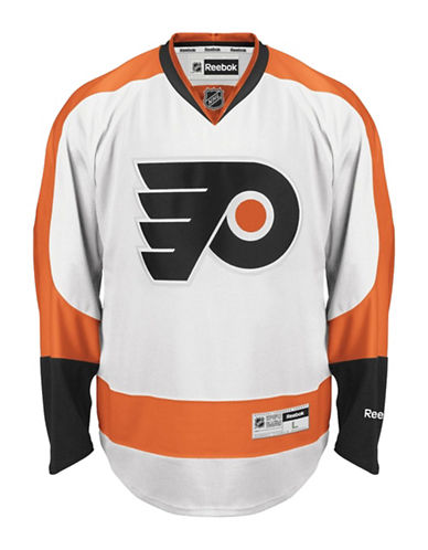 Reebok Philadelphia Flyers NHL Premier Away Jersey-WHITE-XX-Large