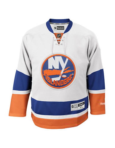 Reebok New York Islanders NHL Premier Away Jersey-WHITE-Small