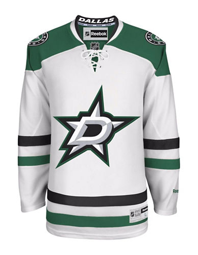 Reebok Dallas Stars NHL Premier Away Jersey-WHITE-X-Large