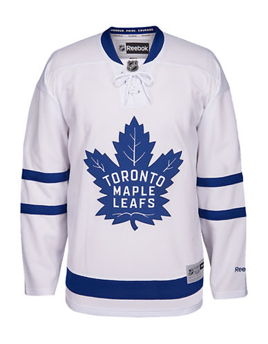 UPC 884899687890 product image for Reebok Toronto Maple Leafs NHL Premier  Away Jersey-WHITE- 42f5ac83d