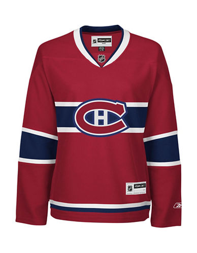 Reebok Montreal Canadiens NHL Premier Home Jersey-RED-Small