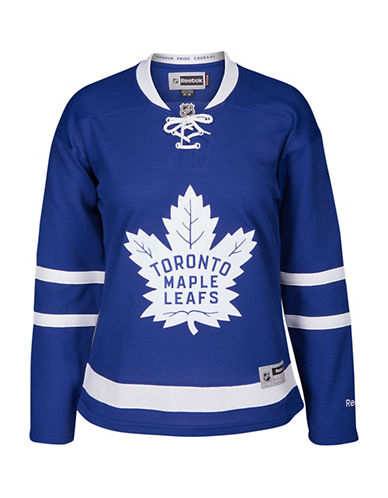 Reebok Ladies Toronto Maple Leafs NHL Premier Home Jersey-BLUE-X-Large