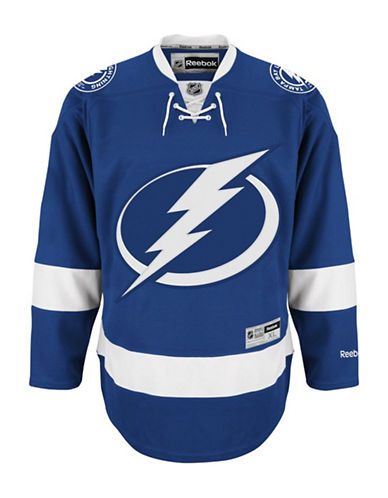 Reebok Tampa Bay Lightning NHL Premier Home Jersey-BLUE-Large
