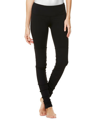 Alo Yoga Goddess Ribbed Leggings-BLACK-Large 87454755_BLACK_Large