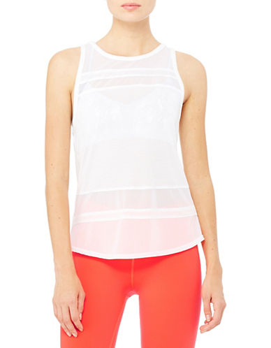 Alo Yoga Ella Illusion Panel Tank-WHITE-Medium 88254878_WHITE_Medium