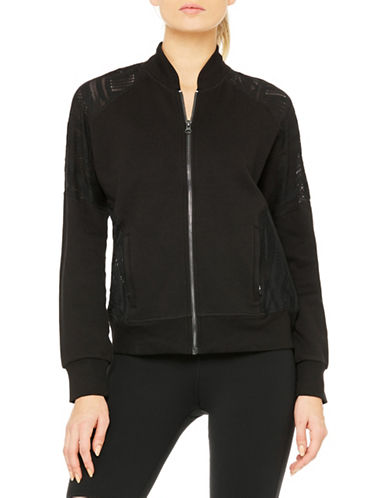Alo Yoga Tempt Ribbed Jacket-BLACK-Medium 88453880_BLACK_Medium