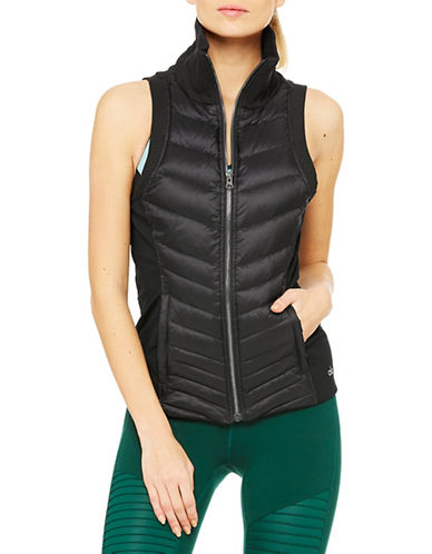 Alo Yoga Altitude Puffer Vest-BLACK-Medium 88683855_BLACK_Medium
