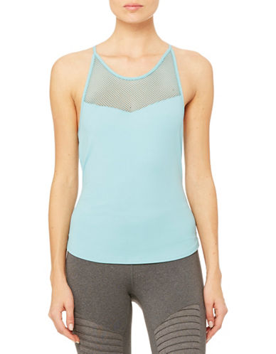 Alo Yoga Elite Tank-BLUE-Small plus size,  plus size fashion plus size appare