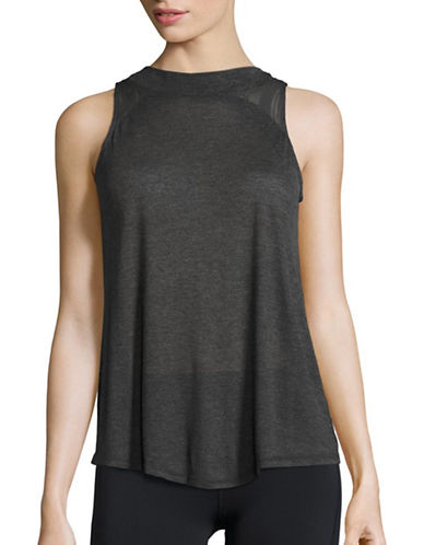 Alo Yoga Crest Solid Tank-GREY-Small plus size,  plus size fashion plus size appare