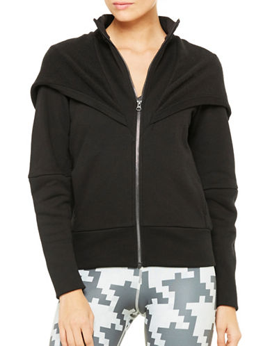 Alo Yoga Boxy Chill Jacket-BLACK-Small 88822747_BLACK_Small