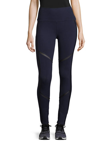 Alo Yoga High Waist Continuity Leggings-BLUE-Medium 89555359_BLUE_Medium