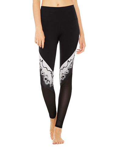Alo Yoga High Waist Verse Leggings-BLACK-X-Small 89019193_BLACK_X-Small
