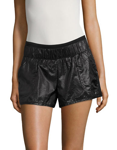 Alo Yoga Layered Shorts-BLACK-X-Small 89121549_BLACK_X-Small