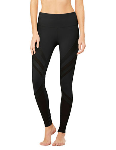 Alo Yoga High-Waist Epic Leggings-BLACK-Medium