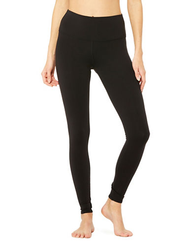 Alo Yoga High-Waist Dash Leggings-BLACK-Small 89555362_BLACK_Small