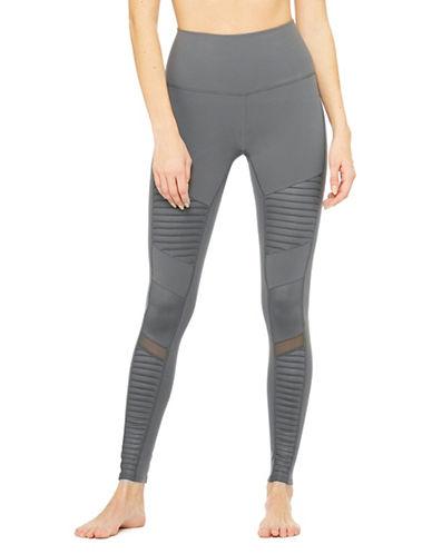 Alo Yoga High-Waisted Moto Leggings-HUNTER-Medium