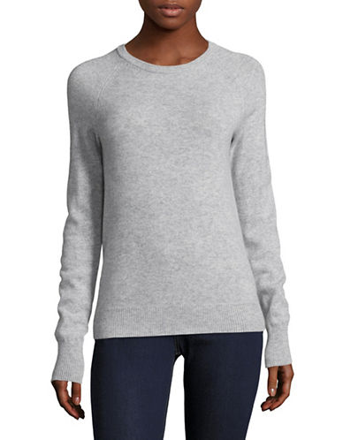 Equipment Cashmere Crew Neck Sweater-LIGHT GREY-Medium
