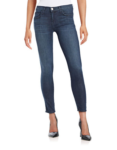 Current Elliott Stiletto Cropped Skinny Jeans-BLUE-29
