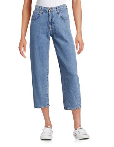 Current Elliott Barrel Drop Jeans-BLUE-27