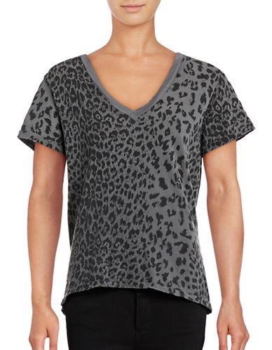 Current Elliott Greyscale Leopard Tee-GREY-Large 88854917_GREY_Large