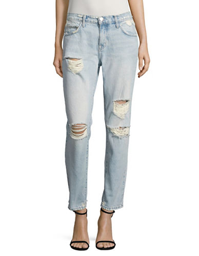 Current Elliott Flight Light Destructed Jeans-BLUE-28