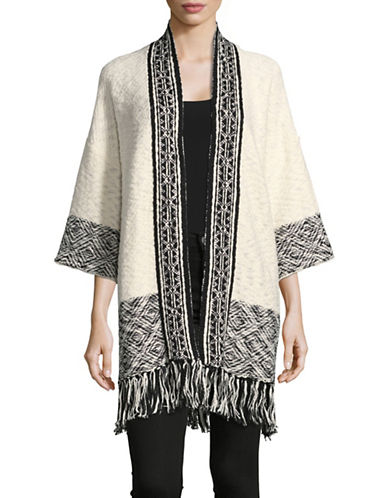 Joie Sidony Crochet Cardigan-CREME-Medium