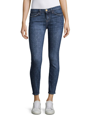 Current Elliott The Stiletto Skinny Jeans-BLUE-29