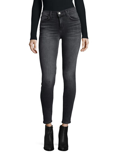 Current Elliott Stretch Denim Skinny Jeans-BLUE-27
