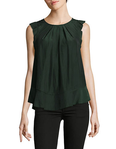 Joie Euna Blouse-GREEN-X-Small
