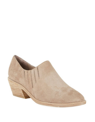 Joie Suede Ankle Boots-BEIGE-EUR 39.5/US 9.5