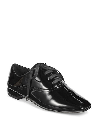 Joie Joanna Patent Leather Loafers-BLACK-EUR 41/US 11