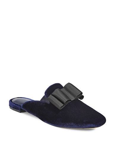 Joie Velvet Loafers-BLUE-EUR 40/US 10