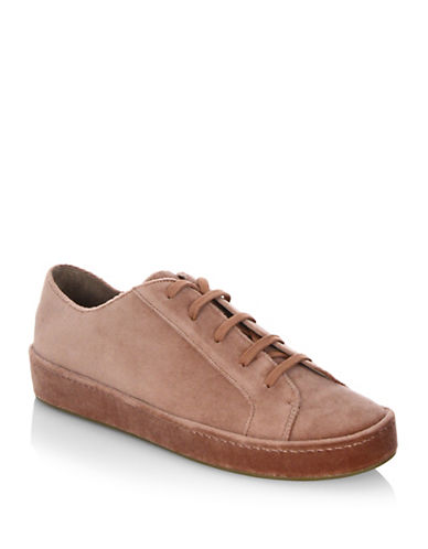 Joie Daryl Velvet Sneakers-BROWN-EUR 36/US 6