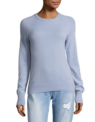 Equipment Cashmere Crew Neck Sweater-PEARL BLUE-Large